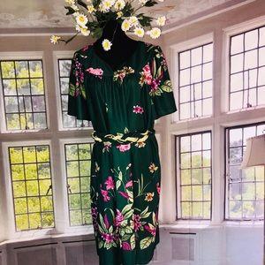 Vintage Floral House Dress Lounge Dress
